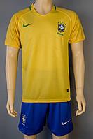 Футбольная форма Сборной Бразилии 2016 домашняя Размер М, фото 1