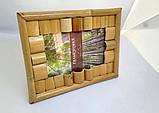 Фоторамка бамбук 10х15. Фоторамка 10-15 бамбуковая. Фоторамка бамбук 10х15 Николаев., фото 3