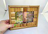 Фоторамка бамбук 10х15. Фоторамка 10-15 бамбуковая. Фоторамка бамбук 10х15 Николаев., фото 4