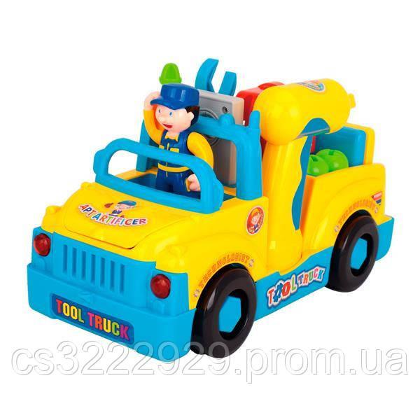 Музична машинка Hola Toys Вантажівка з інструментами (789)
