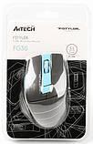 Мышь A4 Tech Fstyler FG30 Blue, фото 6