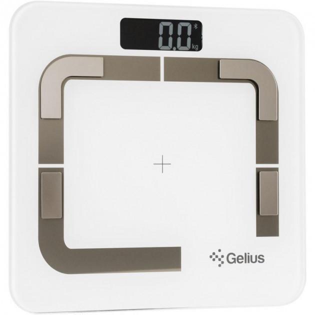 Умные напольные весы Gelius Floor Scales Zero 2 Fat White (GP-BFS002)