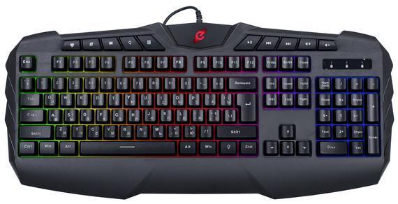 Дротова клавіатура Ergo KB-810 Black (KB-810)