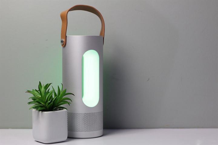 Портативная bluetooth колонка Havit HV-M9 с объемным звуком, Power Bank и многоцветным светодиодным цветом
