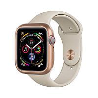 Магнитный чехол Coteetci золотой для Apple Watch 4/5/6/SE 40mm
