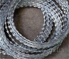 Колючий дріт-стрічка Єгоза Шарк діаметр кільця Ø500мм БTO-22 СТАНДАРТ  80м.п.