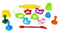 Набор формочек для лепки из пластилина и теста в пластиковой банке, LEP01, для детей от 3 лет