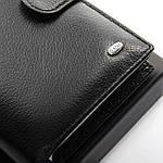 Кошелек портмоне мужской кожаный DR. BOND черный (05-122), фото 4