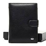 Кошелек портмоне мужской кожаный DR. BOND черный (05-122), фото 3