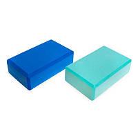 Блок для йоги FI-1536 (EVA, р-р 23x15x8см), кольори в асортименті