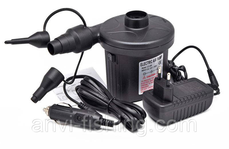Насос электрический CZ-208 (с питанием от прикуривателя и розетки 220V)