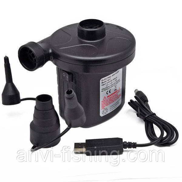 Насос электрический CZ-8217 (с питанием от USB)