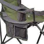 Стул туристический складной CampMaster Classic 300 - зеленый, фото 5
