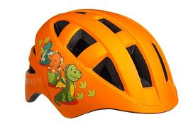 Велосипедный детский шлем ONRIDE Bud M 54-57 оранжевого