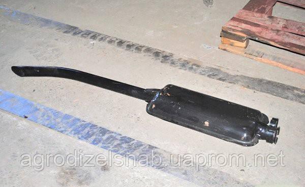 Глушитель МТЗ-80 длинный (L=1350 мм) (пр-во ЮТАС)