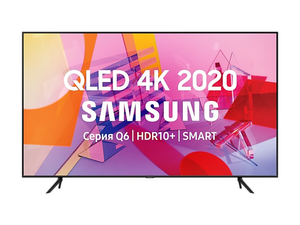 Samsung 65 дюймов QE65Q67T ( 4K / QLED / VA / Tizen / Blutooth / WiFI)