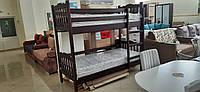 Двухэтажная деревянная кровать Тандем