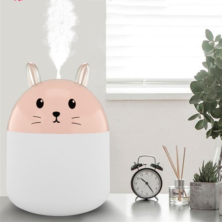 Увлажнитель ароматизатор воздуха Humidifier NJ-003 Розовый
