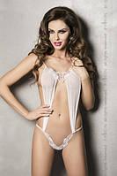Боди Athena Body white Passion, S/M, L/XL