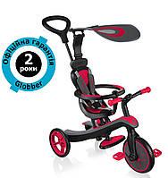Велосипед-беговел Globber Explorer Trike 4in1 New Red (красный)