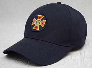 Бейсболка ДСНС (пожежники) ріп-стоп, темно-синя