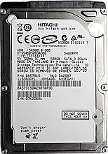 Жесткий диск HDD 500GB 5400rpm 8MB SATA II 2.5 Hitachi HTS545050B9A300 Q7K2D68L