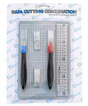 Набір для моделювання 2015: килимок самовідновлювальний, 2 макетних ножі, змінні леза,  DAFA