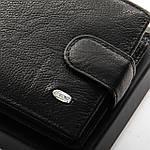 Гаманець портмоне чоловічий шкіряний DR. BOND чорний (05-124), фото 3