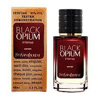 Ys Snt Lrnt  Black Opium Intense TESTER LUX, женский, 60 мл