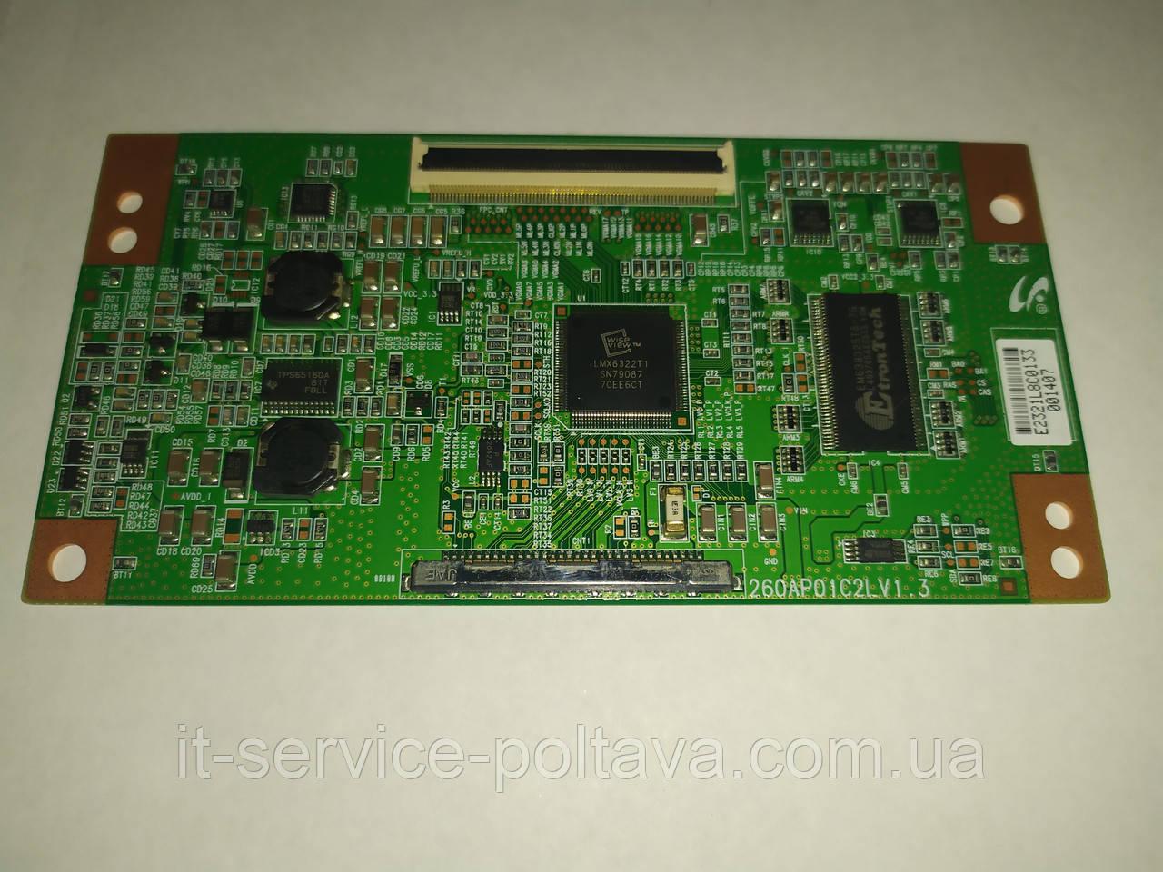 Плата (T-CON) 26OAP01C2LV1.3 для телевізора SAMSUNG