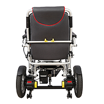 Надлегкий електричний візок для інвалідів MIRID D6034. Складається з допомогою пульта., фото 3