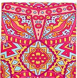 Килимок (мат) для йоги та фітнесу   PVC+замша 173*61*3 мм рожевий ,чехол у подарунок, фото 5