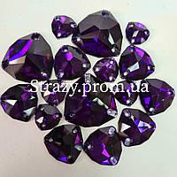 Стразы Lux Trillant 12мм. Purple Velvet