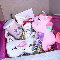 "Подарочный набор для девочки от Wow Boxes ""Unicorn Box № 7"""