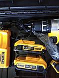 Акумуляторний Шуруповерт DeWALT DCD791 ударний (32V 5A/h Li-Ion) з залізним патроном в кейсі, фото 4