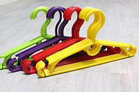 Вешалка - плечики тремпель для детской одежды пластиковые 32х17 см / Набор 10 шт детские пластик