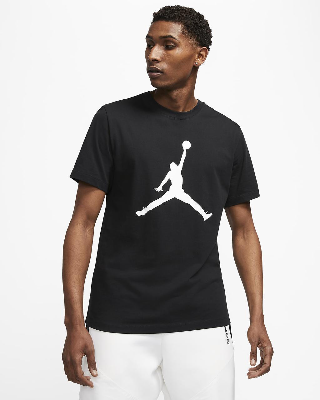 Футболка мужская Jordan Jumpman T-shirt CJ0921-011 Черный