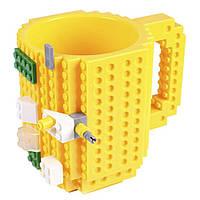 Кружка Лего конструктор (жовта)