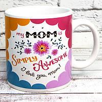 Кружка Кращої мами Simply Mom
