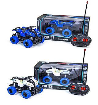 Багги квадроцикл полицейский на пульт управлении