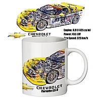 Чашка с принтом 65502 Chevrolet, фото 1