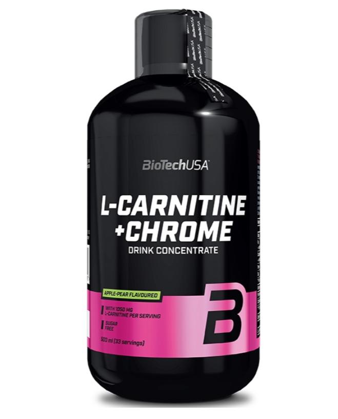 BioTech USA L-Carnitine 35,000 + Chrome concentrate - 500 мл