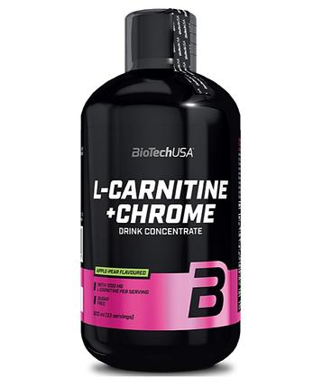 BioTech USA L-Carnitine 35,000 + Chrome concentrate - 500 мл, фото 2