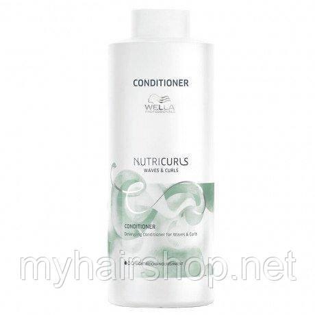 Кондиціонер для кучерявого волосся WELLA Nutricurls Conditioner Detangler 1000 мл