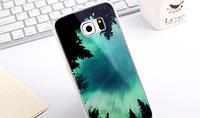 """Премиум силиконовый чехол """"Ночное небо"""" для Samsung Galaxy S6"""