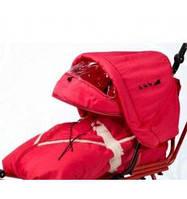 Капюшон на санки ADBOR PICCOLINO, красный - 13710
