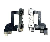 Шлейф для iPhone XR, с фронтальной камерой, оригинал (Китай)