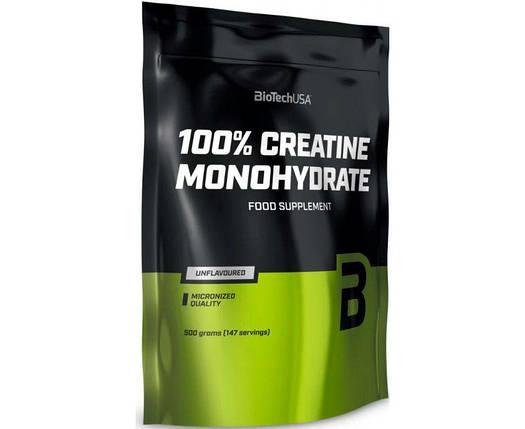 Креатин Biotech 100% Creatine Monohydrate 500g пакет, фото 2