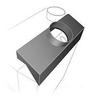 Теплопередавач Теплодар ТОП 200 для опалювальної печі