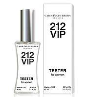 Тестер Carolina Herrera 212 VIP женский, 60 мл